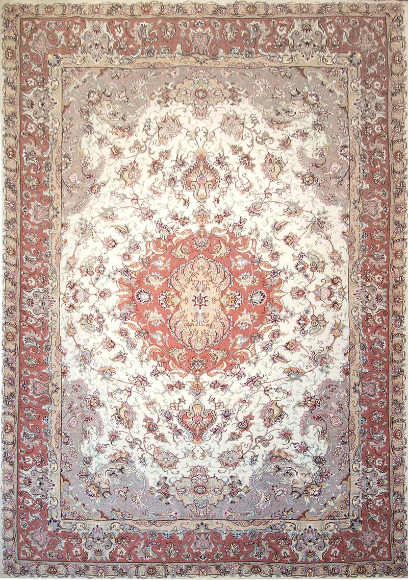 فرش طرح خطیبی بوته